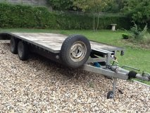 Trailer in Lakenheath, UK