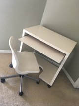 White Desk & Chair in Naperville, Illinois