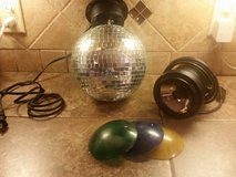Electric mirror ball w/light in Kingwood, Texas