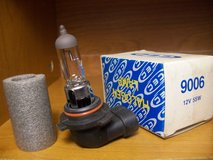 NEW # 9006 Halogen Headlight lamps / bulbs in Bartlett, Illinois