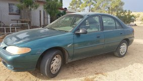 1997 Ford Mercury Tracer LS Sport-Parting out-Front Drivers Door Only in 29 Palms, California