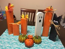 Fall table decoration in Spring, Texas