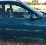1997 Ford Mercury Tracer LS Sport-Parting Out-Passenger Door Only in Yucca Valley, California