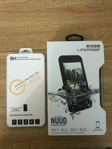 Iphone 7 plus Lifeprood Nuud case brand new with tempered glass in Fort Irwin, California