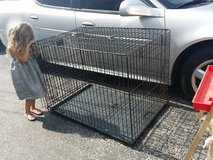 XL dog crate in St. Charles, Illinois