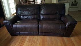 leather reclining sofa in Beaufort, South Carolina