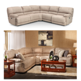 Furniture Row Sectional in Fort Rucker, Alabama