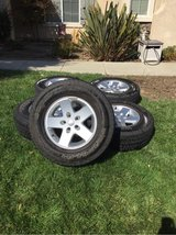 Jeep JK wheels and tires in Travis AFB, California
