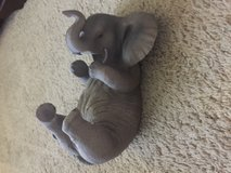 Ceramic baby elephant wine bottle holder in Travis AFB, California