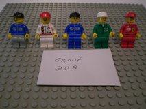 5 Lego Racers Minifigs Group 209 in Naperville, Illinois