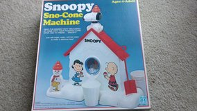 Snoopy Sno-Cone Machine Vintage 1979 in Glendale Heights, Illinois