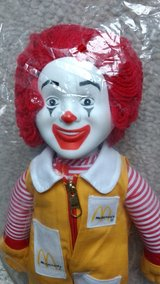 Ronald McDonald doll in Glendale Heights, Illinois
