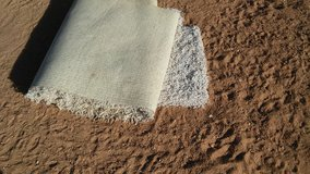 Free. White shag carpet in Yucca Valley, California