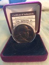 *** CAL RIPKEN Jr. Bronze Medallion Coin Highland Mint with COA*** in Fort Lewis, Washington