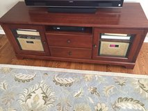 Wood TV Stand in St. Charles, Illinois
