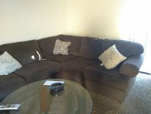 Brown Sectional in El Paso, Texas