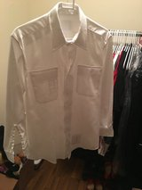 ASU Men's White Button Up Shirt in Fort Drum, New York