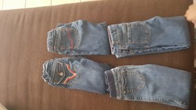 7 pair of jeans little girls 5T in El Paso, Texas