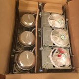 "6"" Recessed Downlight 6 Pack With Baffles in Naperville, Illinois"