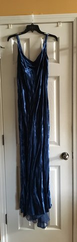 Elegant Blue Party Dress size 11/12 in Perry, Georgia
