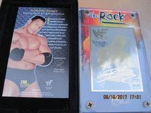 Authentic Images- (THE ROCK) WWF- 24K Gold Collectible Card in Vacaville, California