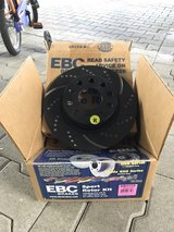 EBC drilled & slotted rotors NEW in Stuttgart, GE