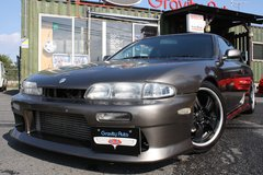 1993 NISSAN SILVIA K's Turbo S14 (Greyish Brown) - Inspection & Shipping Included in Okinawa, Japan