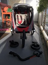 POD double baby jogger / baby stroller / bike attachment in Okinawa, Japan