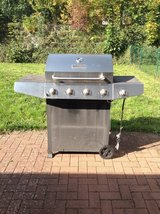 Master Forge 4+1 Burner Grill in Ramstein, Germany
