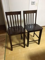 Chairs, Solid Wood, Counter/Bar Height in Okinawa, Japan