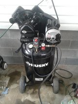 Like Brand New condition Husky 30gal belt drive air compressor 155psi  $325 OBO in Warner Robins, Georgia