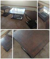 Coffee table & 2 end tables in Fort Lewis, Washington