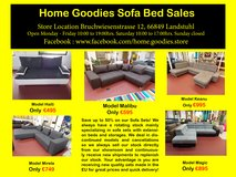 Home Goodies Sofa Sales in Spangdahlem, Germany