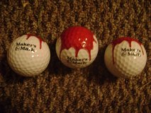 Makers Mark Collectable 3 pc. Golf Ball Set. New and Unused in Original Box. in Fort Polk, Louisiana