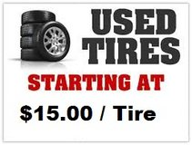 USED TIRES in Shorewood, Illinois
