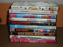 dvd's (see list) in Aurora, Illinois