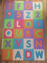 Play Mat Foam Alphabet+Numbers in Okinawa, Japan