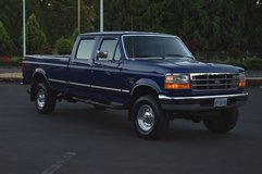 1997 FORD F-350 4WD XLT CREW CAB LONG BED 7.3 TURBO POWERSTROKE DIESEL in Galveston, Texas