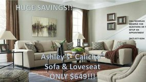 "*SALE* ASHLEY ""CALICO"" SOFA & LOVESEAT - $649 in Cherry Point, North Carolina"