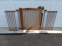 """Richell One-Touch 150 Pet Gate with two 12"""" Extensions in Joliet, Illinois"""