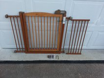 """Richell One-Touch 150 Pet Gate with 4"""" and 12"""" Extensions in Joliet, Illinois"""