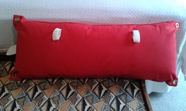 NEW Authentic Solid Red Marlboro Hammock Pillow W/ 2 Velcro Fasteners in Shorewood, Illinois
