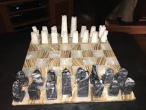 ALL MARBLE  CHESS SET in Sandwich, Illinois