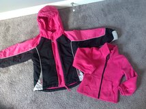 4T Winter Coat with removable Fleece Jacket Sz 4 in Fort Campbell, Kentucky