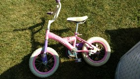 Princess bike for younger girl in Shorewood, Illinois