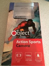 Action camera with mounts and sd card in Lakenheath, UK