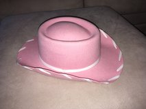 Girls' Pink Cowgirl Hat One Size kids' small Halloween Costume Authentic Straight from Texas! in Shorewood, Illinois