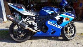 2005 Suzuki GSX-R 600 in Fort Lewis, Washington