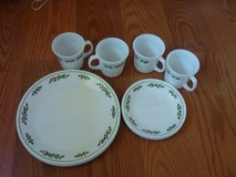 CORELLE CHRISTMAS HOLLY DAYS DINNERWARE in Bartlett, Illinois