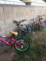 Bikes, bikes, bikes in Alamogordo, New Mexico